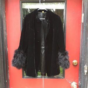 Jackets & Blazers - Jacket velvet